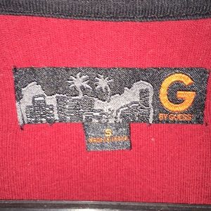 Guess Shirts - Guess dark red long sleeve size small